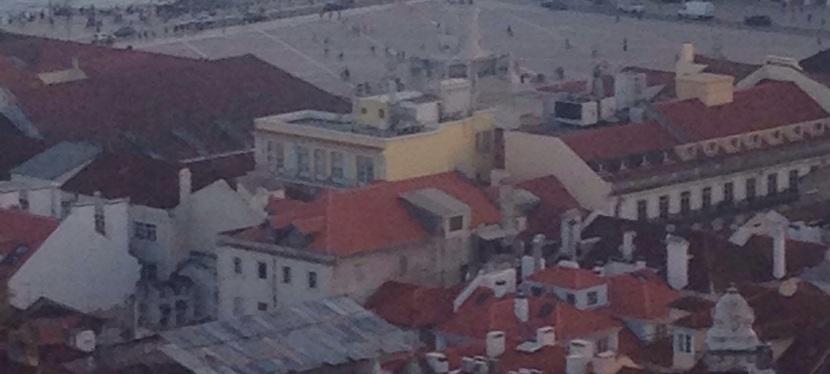 Beautiful View of Terra-cotta rooftops DuringSunset