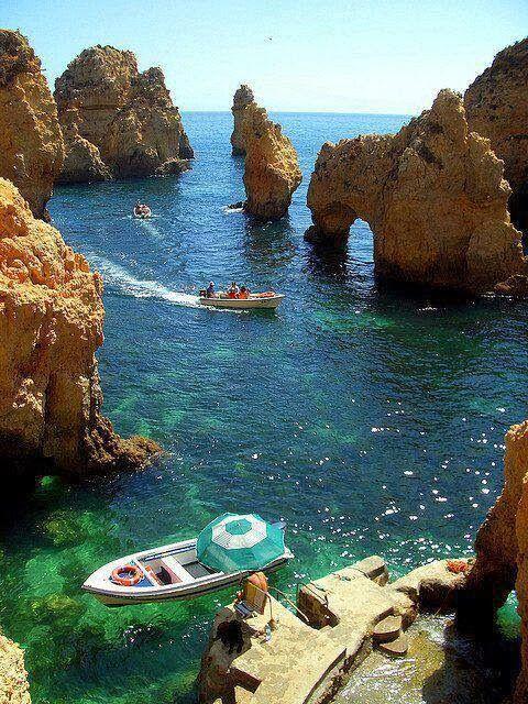 Praia da Marinha, Algarve, Portuga