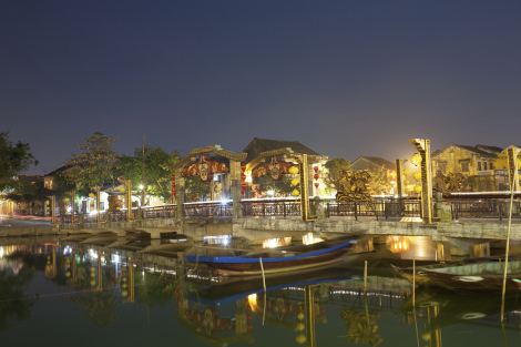 Hoi An Vietnam Canal City