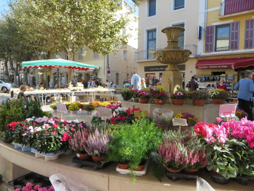 Outdoor Market in Cassis, France