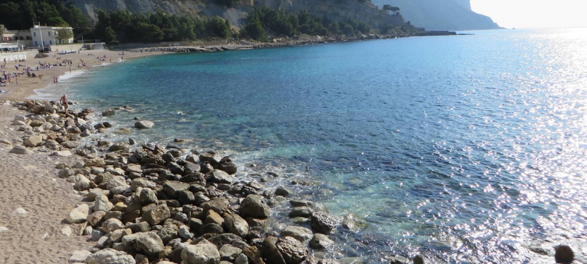 Cap Canaille in Cassis, France
