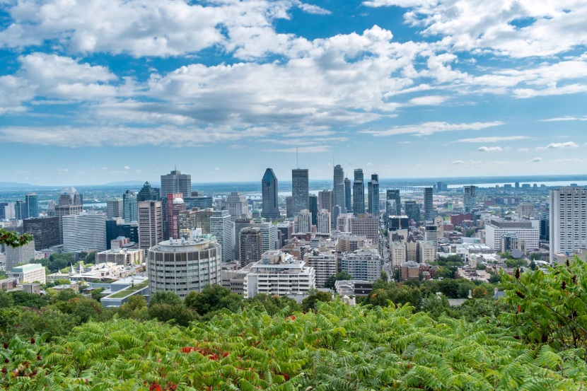 Downtown View of Montreal, Canada